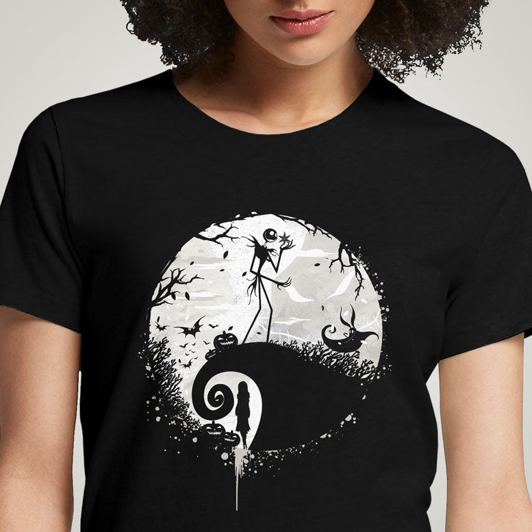 Nightmare Before Christmas  - Buy Cool Graphic T-shirt for Men Women Online in India | OSOM