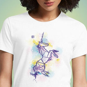 Origami Unicorn  - Buy Cool Graphic T-shirt for Men Women Online in India | OSOM