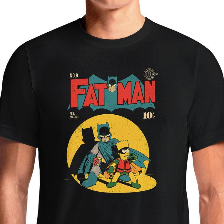Fat Man  - Buy Cool Graphic T-shirt for Men Women Online in India | OSOM