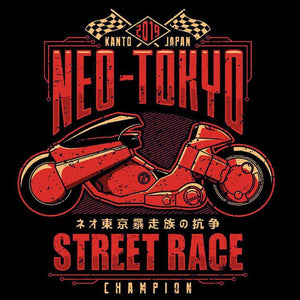 Neo Toyko Street Racing Champion  - Buy Cool Graphic T-shirt for Men Women Online in India | OSOM