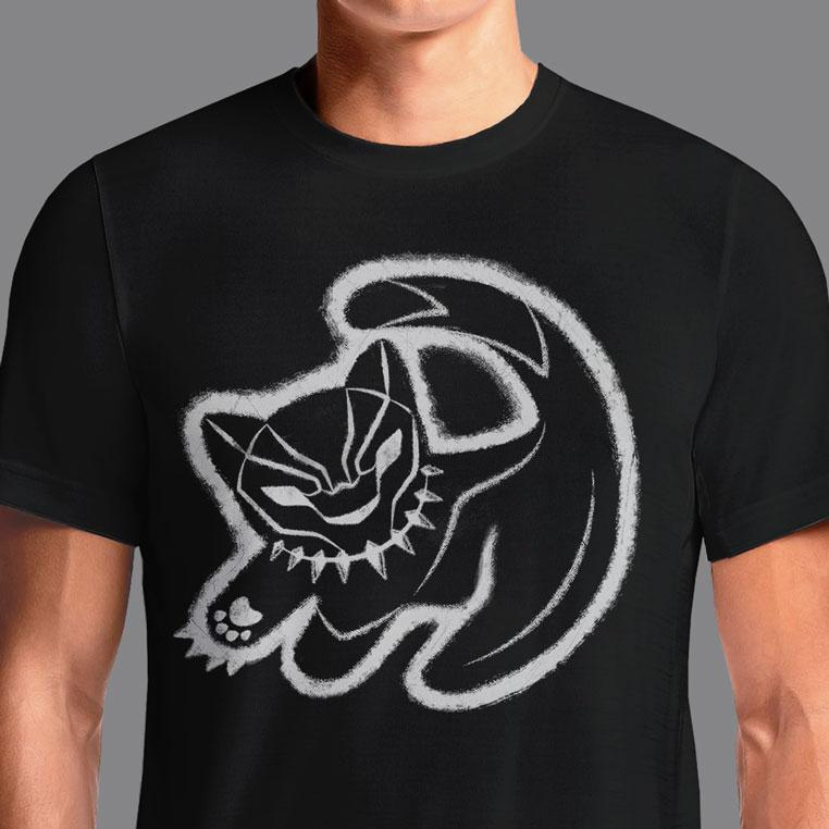 The Panther King  - Buy Cool Graphic T-shirt for Men Women Online in India | OSOM