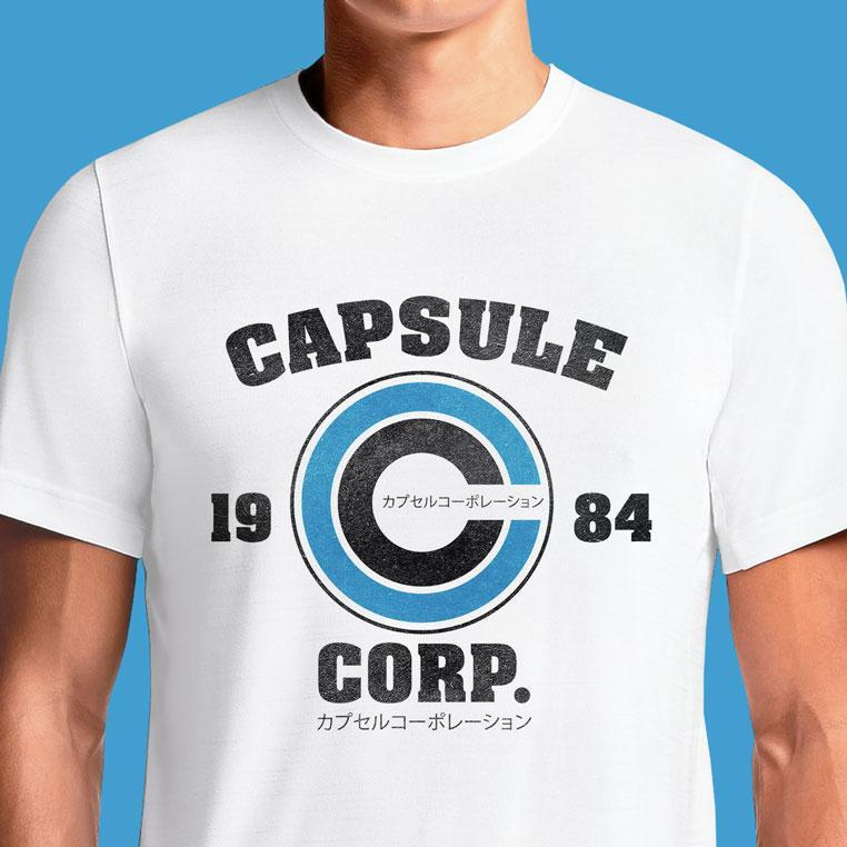 Capsule Corp  - Buy Cool Graphic T-shirt for Men Women Online in India | OSOM