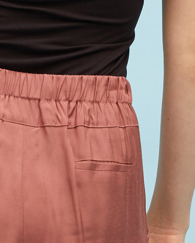 Smart Postpartum Pant - Wood Rose - Peachymama - 2