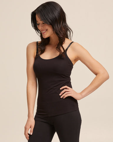 Nursing Cami Top - Black
