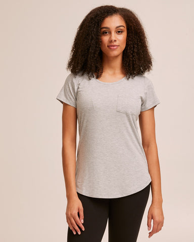 Nursing Tee Bundle: Black/Gray/White