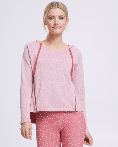 Zip Up Nursing Hoodie - Rosetta - Peachymama - 1