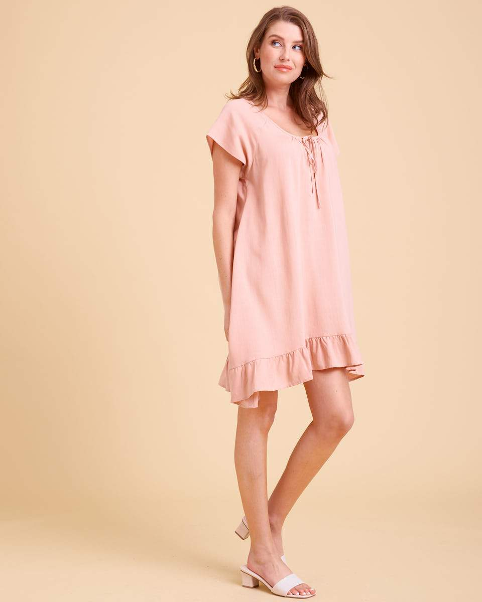 Whisper Nursing Dress - Blush