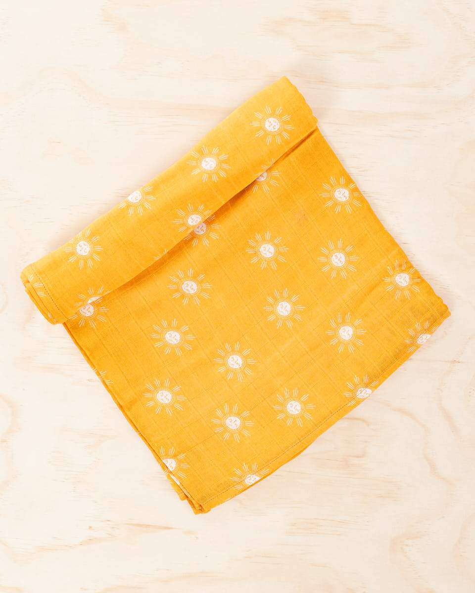 Organic Cotton / Bamboo Swaddle - Sonny