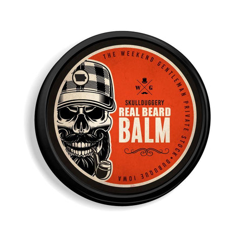 All-Natural Beard Balm Hair Skullduggery Grooming Co.