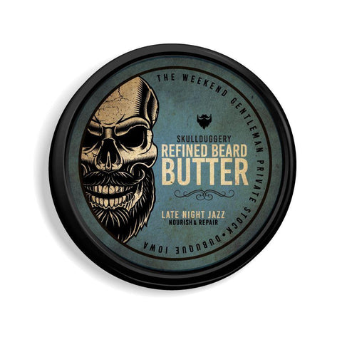 All-Natural Beard Butter Hair Skullduggery Grooming Co.