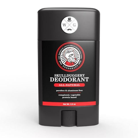 All-Natural Deodorant Skin Skullduggery Grooming Co.