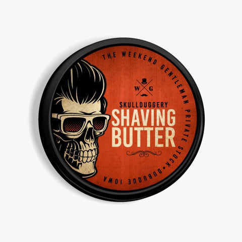 All-Natural Shaving Butter Hair Skullduggery Grooming Co.