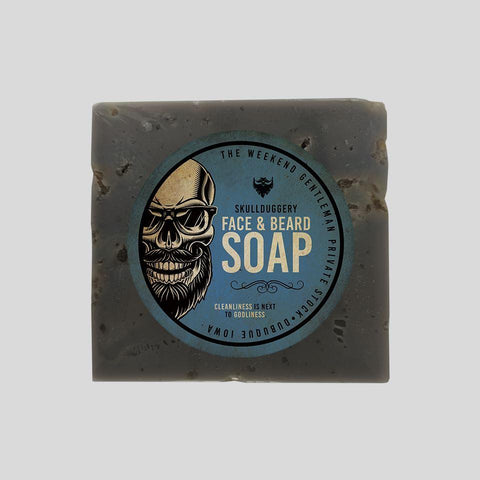 Face & Beard Soap Beauty - Men's - Bath & Body Skullduggery Grooming Co.