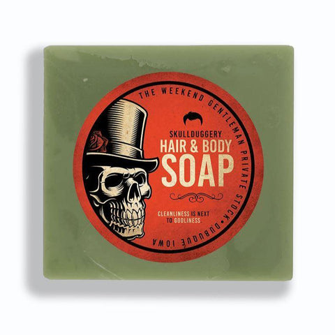 Hair & Body Soap Beauty - Men's - Bath & Body Skullduggery Grooming Co.