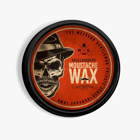 Moustache Wax Hair Skullduggery Grooming Co.