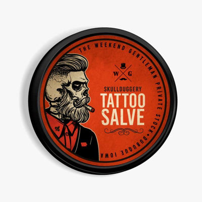 Tattoo Aftercare Salve Skin Skullduggery Grooming Co.
