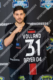 "Kevin Volland <br>Bayer Leverkusen <br>""GAME USED"" <br>Original signiertes Europa League Trikot 2018/19"