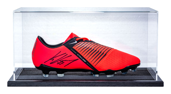 Kevin Volland <br>Bayer Leverkusen <br>Original signierter Nike Phantom Venom Schuh in Acryl Display