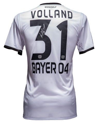"Kevin Volland <br>Bayer Leverkusen <br>""GAME USED"" <br>Original signiertes Bundesliga Spielertrikot Saison 2018/19"