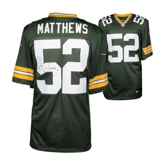 Clay Matthews <br>Green Bay Packers <br>Original handsigniertes Nike Limited Jersey