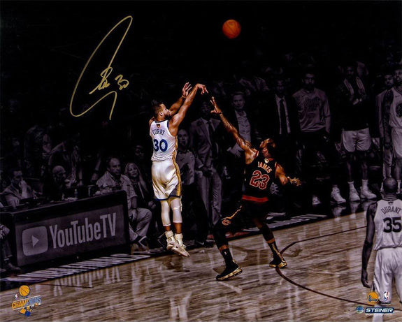 Stephen Curry<br>Golden State Warriors<br>Original signiertes Foto<br>50 x 40 cm
