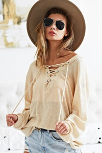 Lace Me Up Tunic