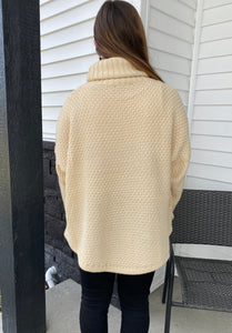 Warm and Cozy Cowl Neck Sweater