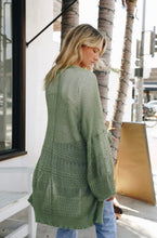 Load image into Gallery viewer, Moss Knit Netted Cardigan