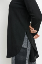 Load image into Gallery viewer, Black Everyday Tunic