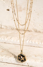 Load image into Gallery viewer, Leopard Tiered Necklace