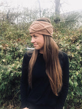 Load image into Gallery viewer, Mocha Knit Headband
