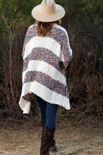 Load image into Gallery viewer, Multi Color Striped Cardi