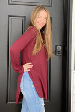Load image into Gallery viewer, Burgundy Everyday Tunic