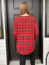 Load image into Gallery viewer, Tartan Plaid Tunic