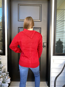 Poinsettia Dreams Sweater