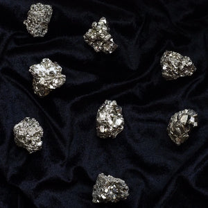 small pyrite cluster