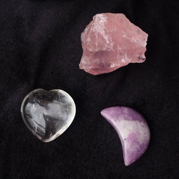 ILLA NOCTE CRYSTAL SET: love by the moon