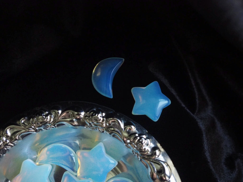 Opalite Stars and Moons