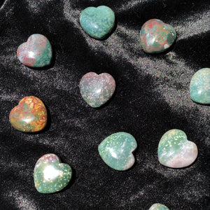 indian agate heart