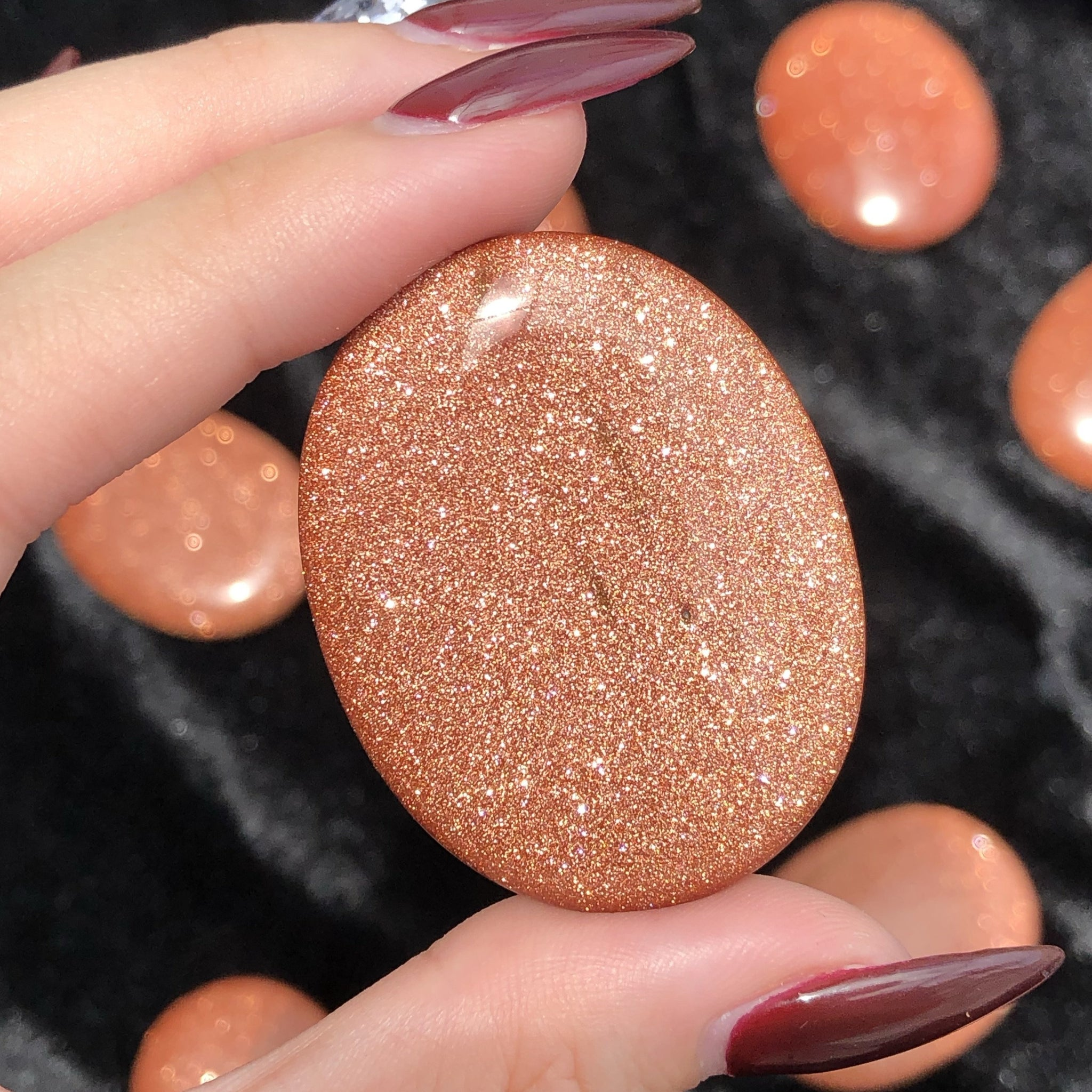 goldstone worry stone