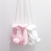 Soft Bunny Tail Purse KF30029