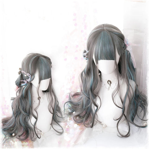 Harajuku long roll wig KF81328