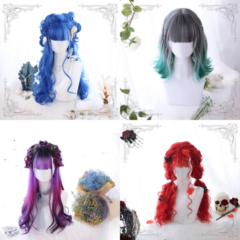 """ one  week "" wigs set  KF8213"