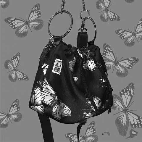 Butterfly shoulder bag KF9285