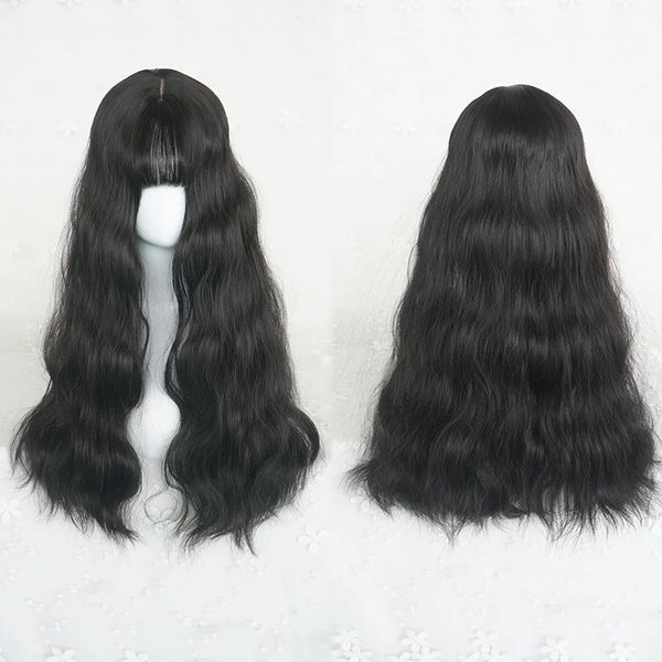 Harajuku long roll wig KF90119