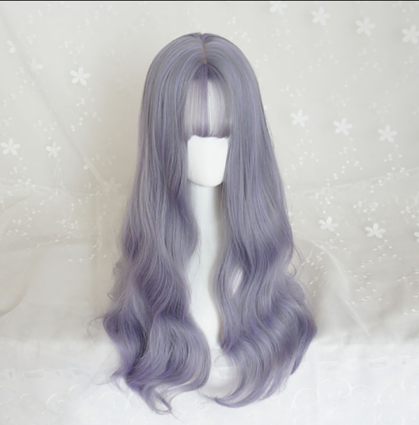 Big wave long roll wig KF90289