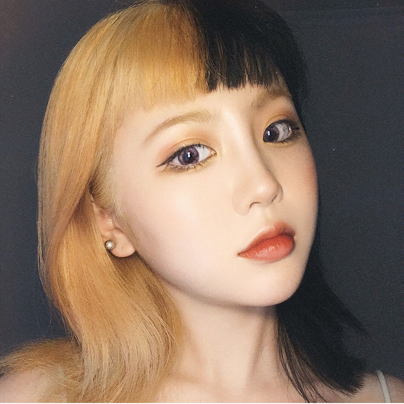 Air bangs short wig KF24082