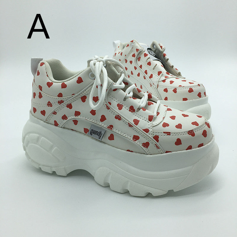 Harajuku love shoes KF9222