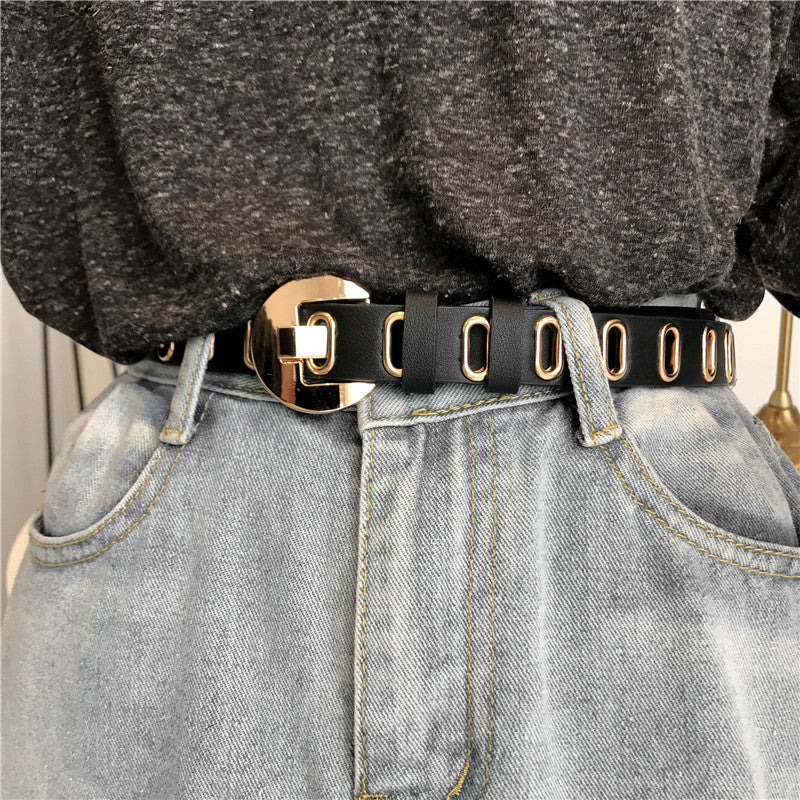 Punk retro belt KF90567