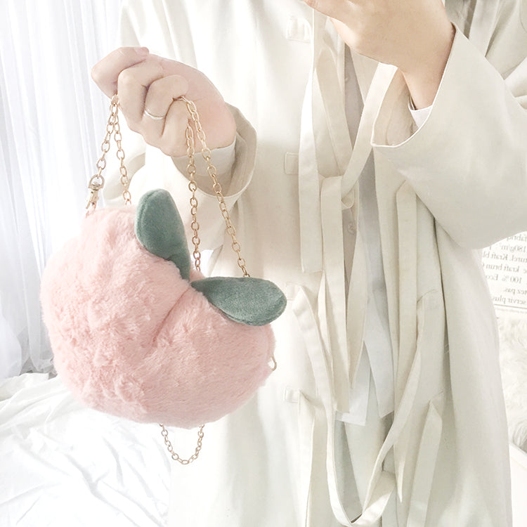 Peach Shoulder Bag KF90260